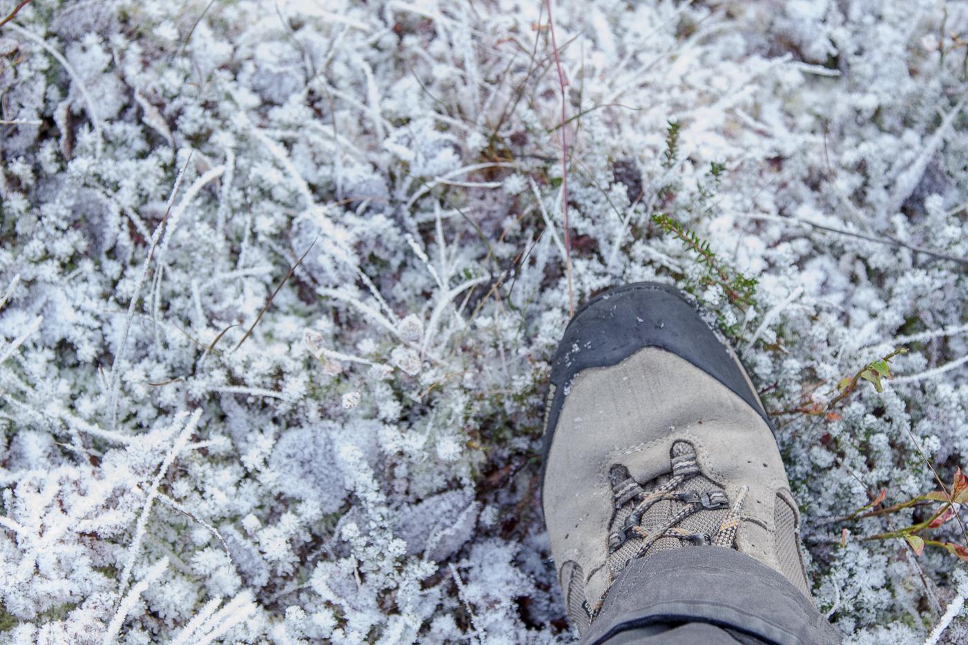 Frost under kängorna