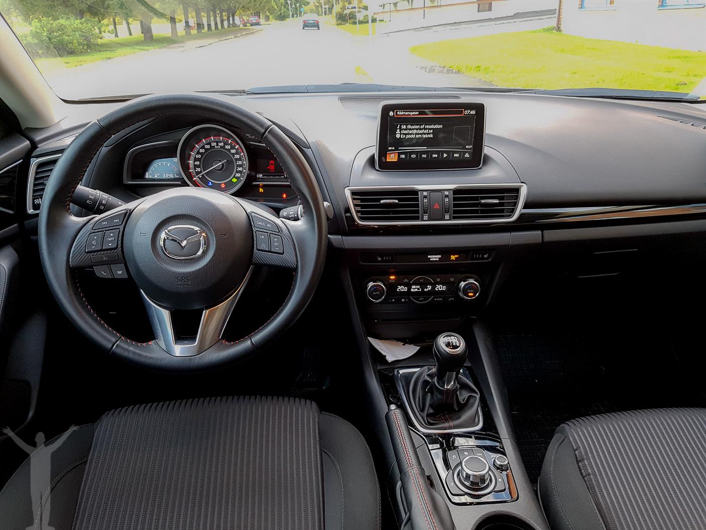 Mazda3 Vision interiör