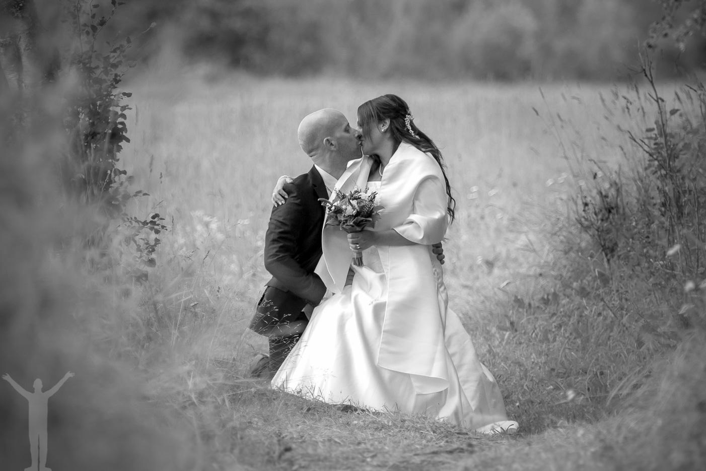 Bröllopsfoto i Jämtland