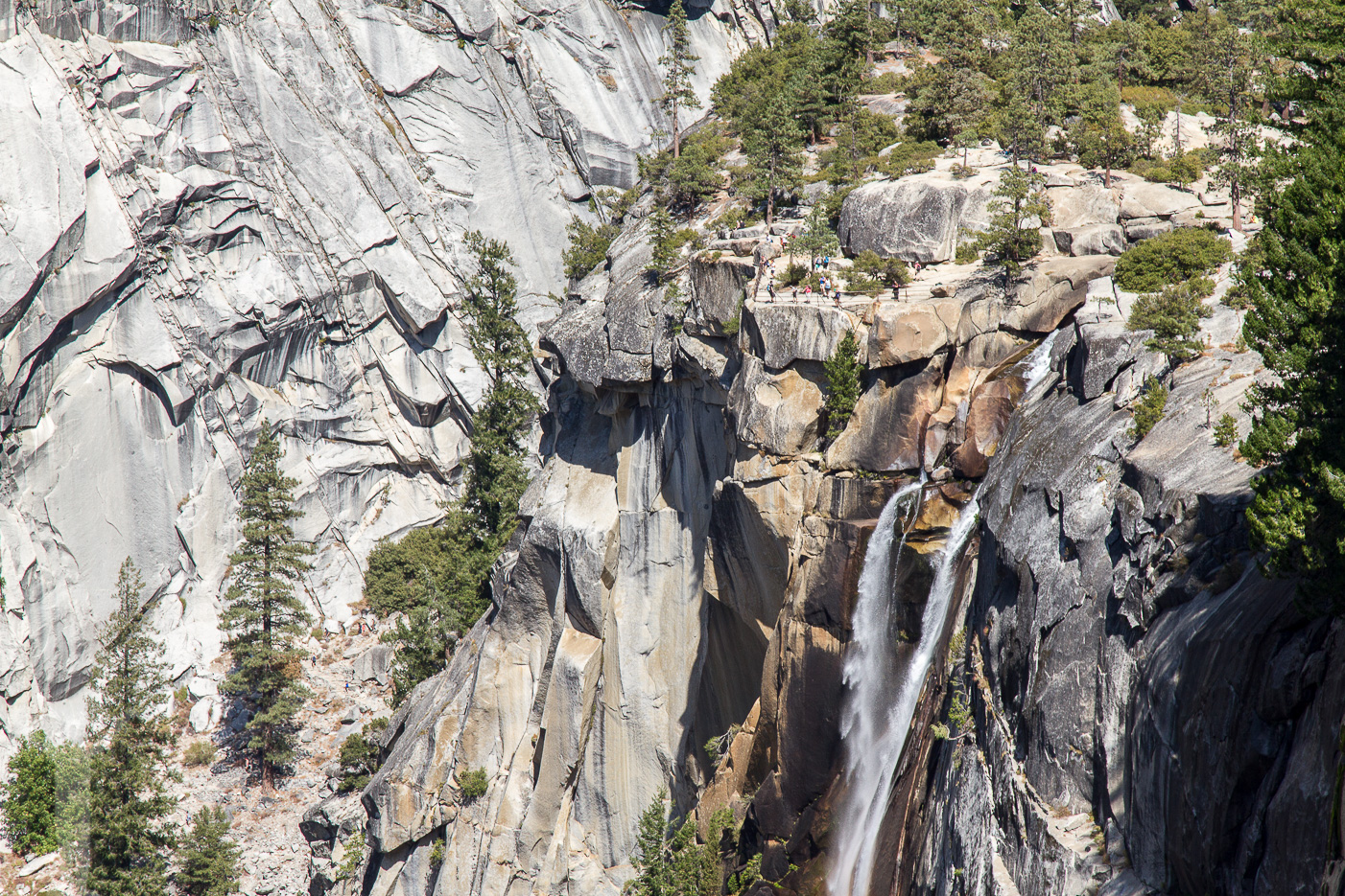 Nevada Fall i Yosemite