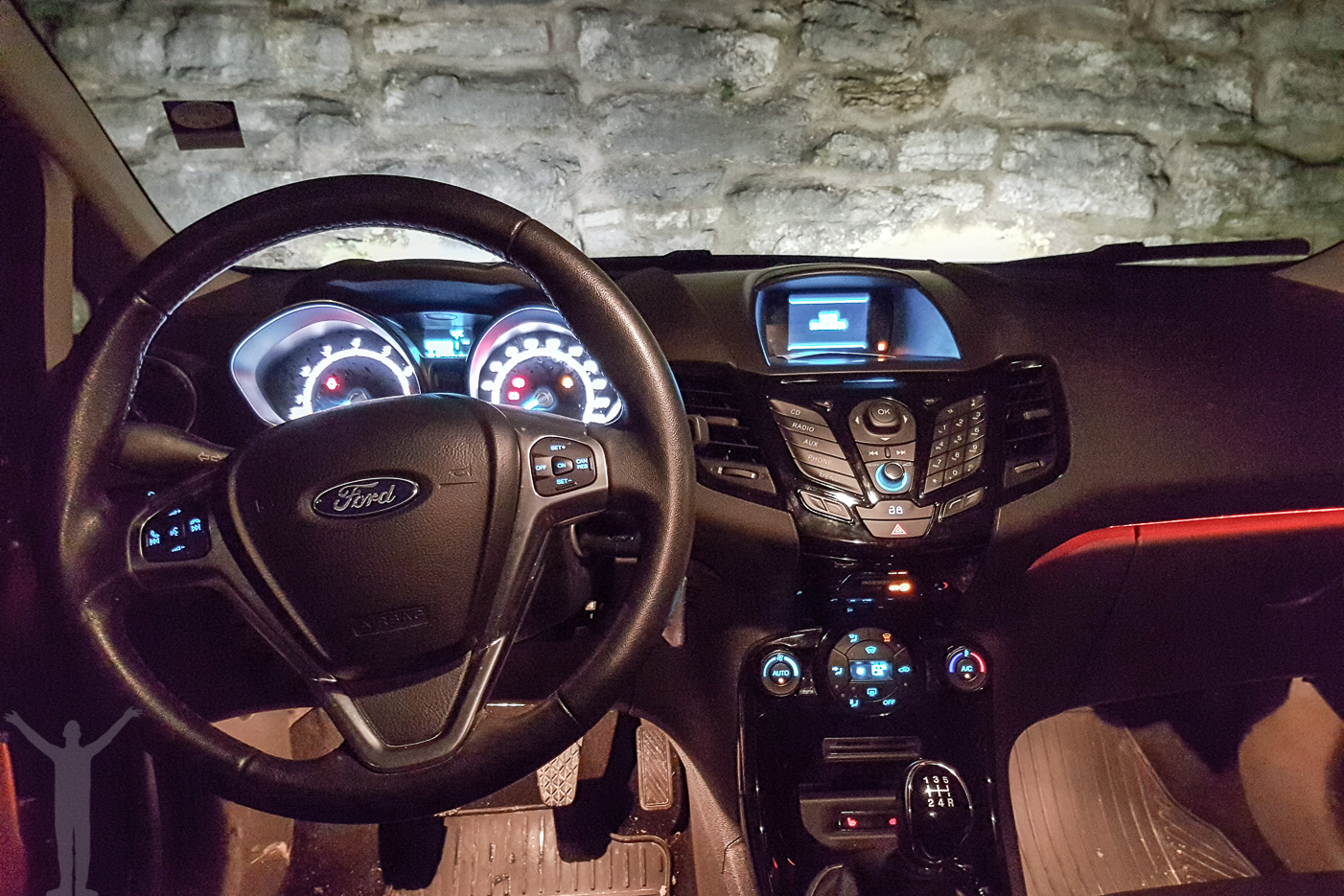 Ford Fiesta - interiör