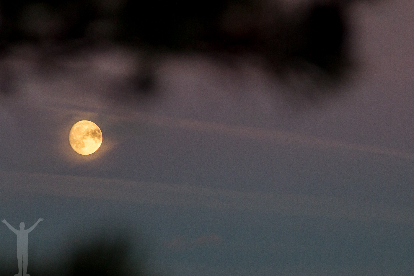 Supermåne på Gotland