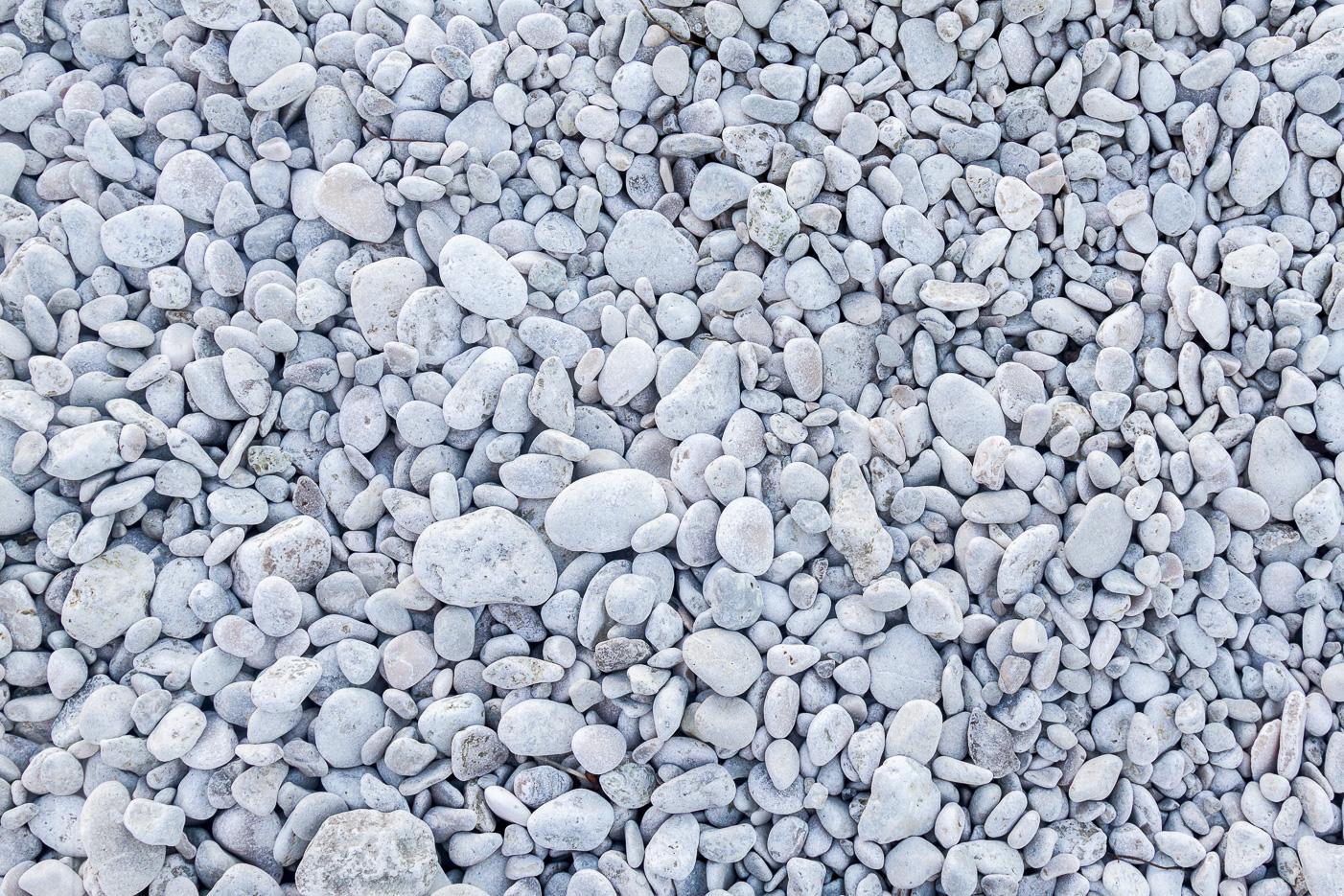 Finslipade stenar på Digerhuvud