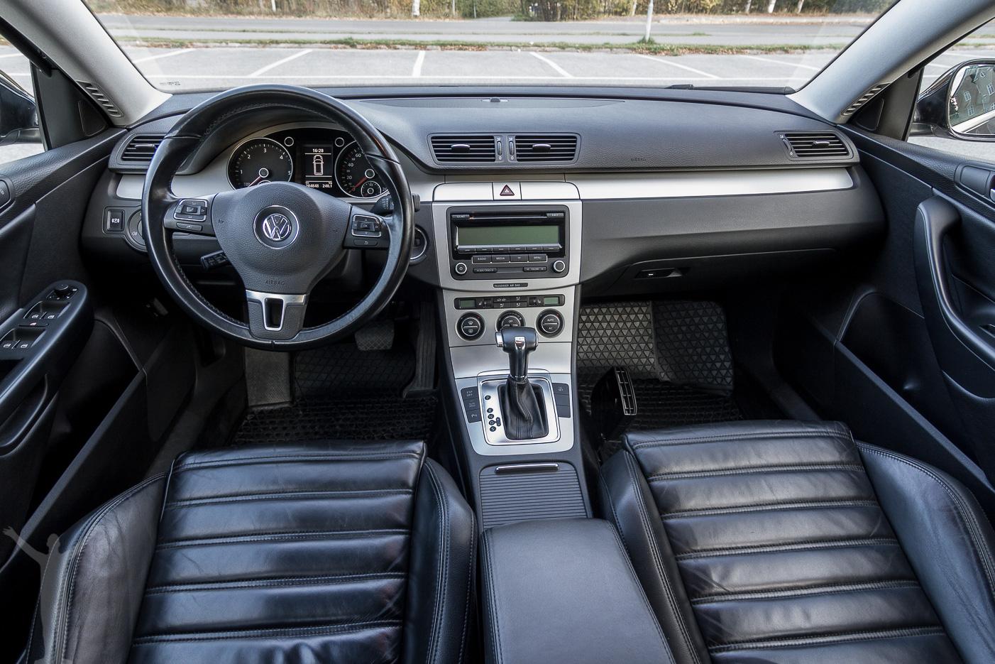 Volkswagen Passat - interiör
