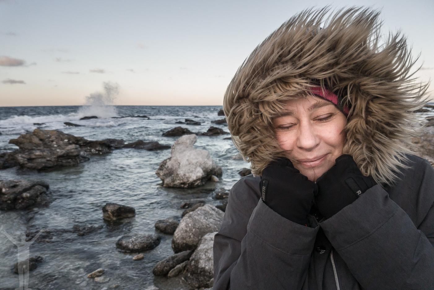 Gotland i november - nyckfullt höstväder