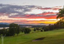 Golfvyer i Jämtland