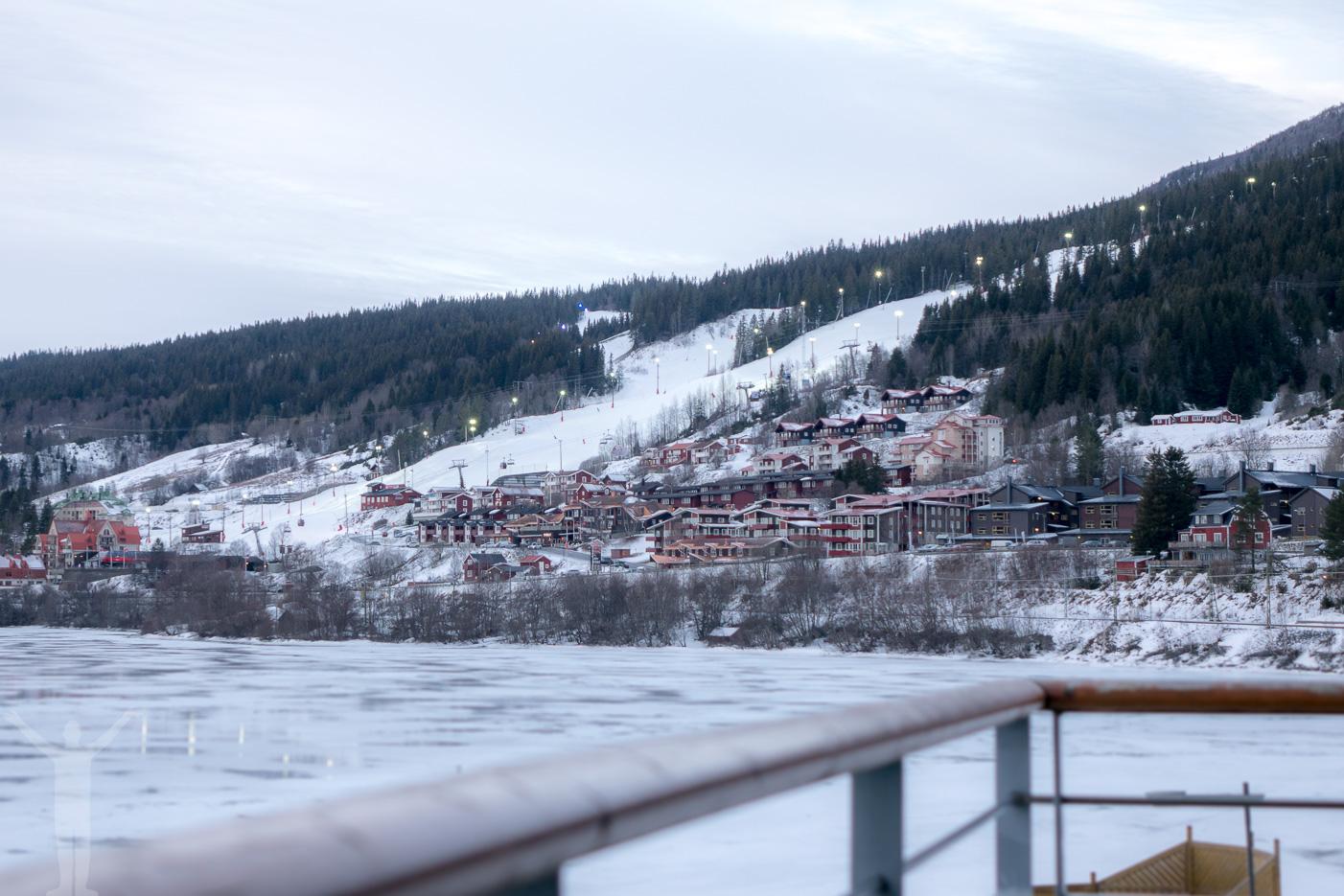 Morgonvyerna över Åre