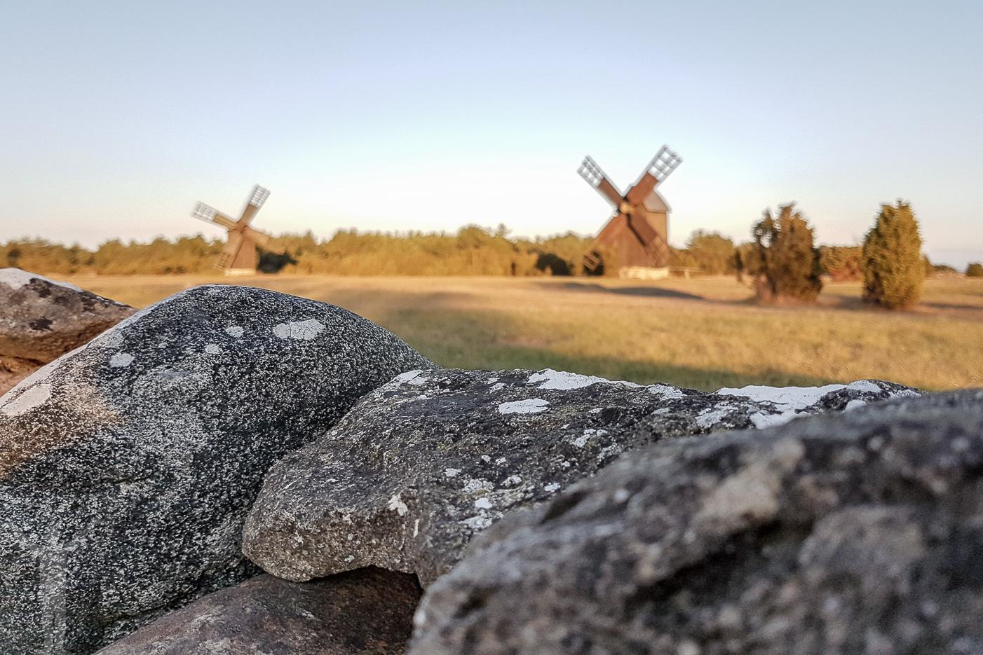 Väderkvarnar på Gotland