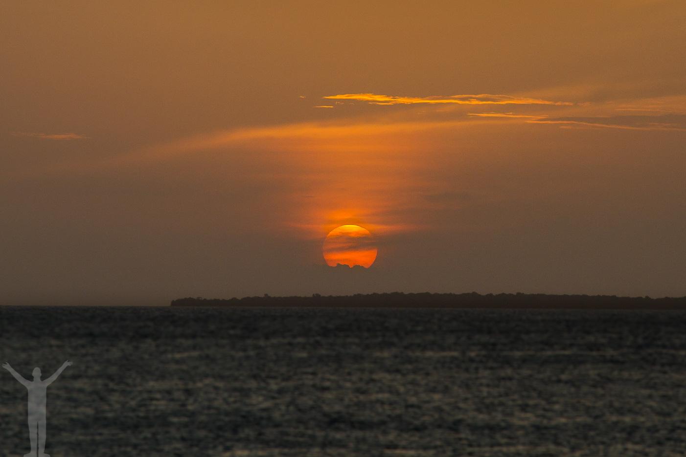 Zanzibar - solnedgång