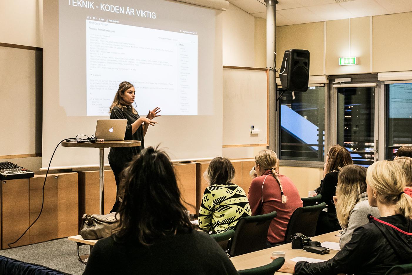 Maryem Nasri om Google och SEO.