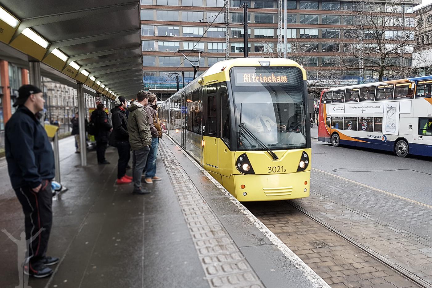 Metrolink i Manchester