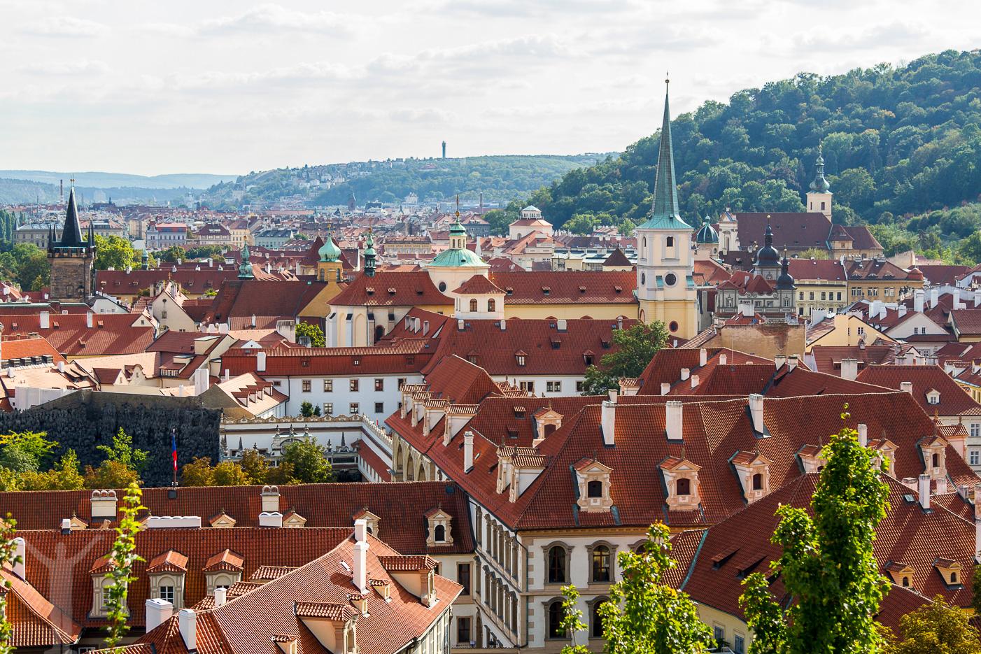 Prag i höstskrud