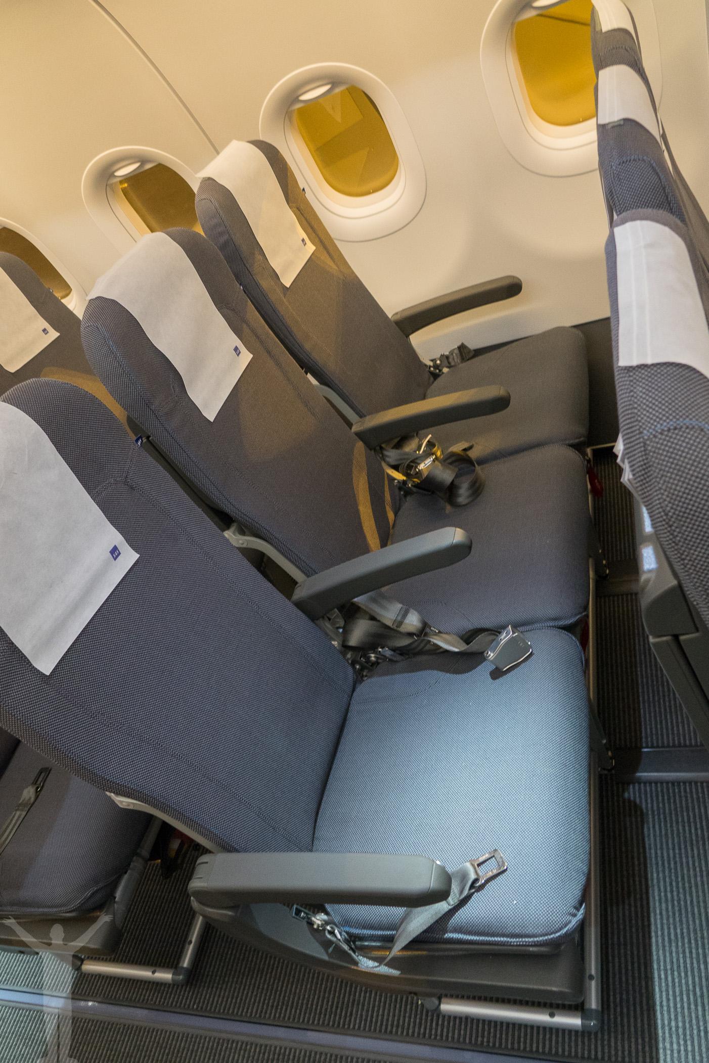 Mer utrymme i nya A320neo