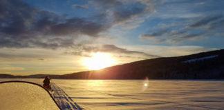 Skotersafari på Åresjön