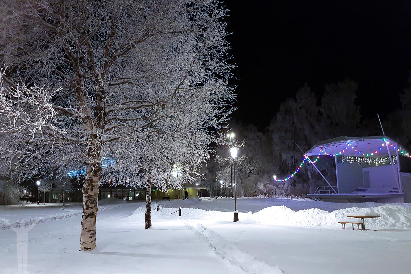 Badhusparken och Vinterstaden