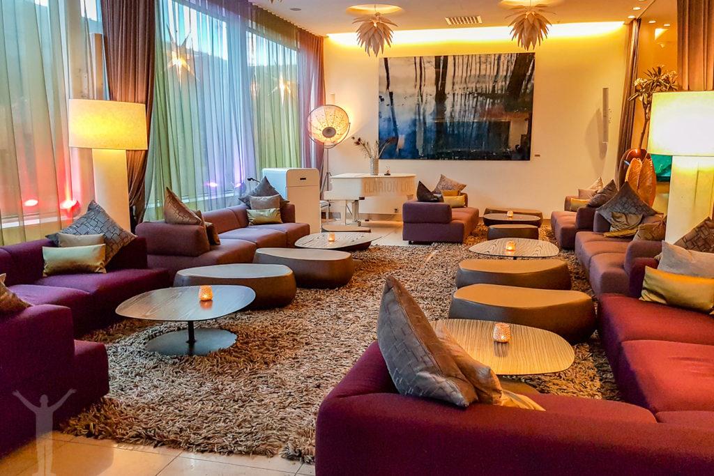 Lobbyn på Clarion Arlanda
