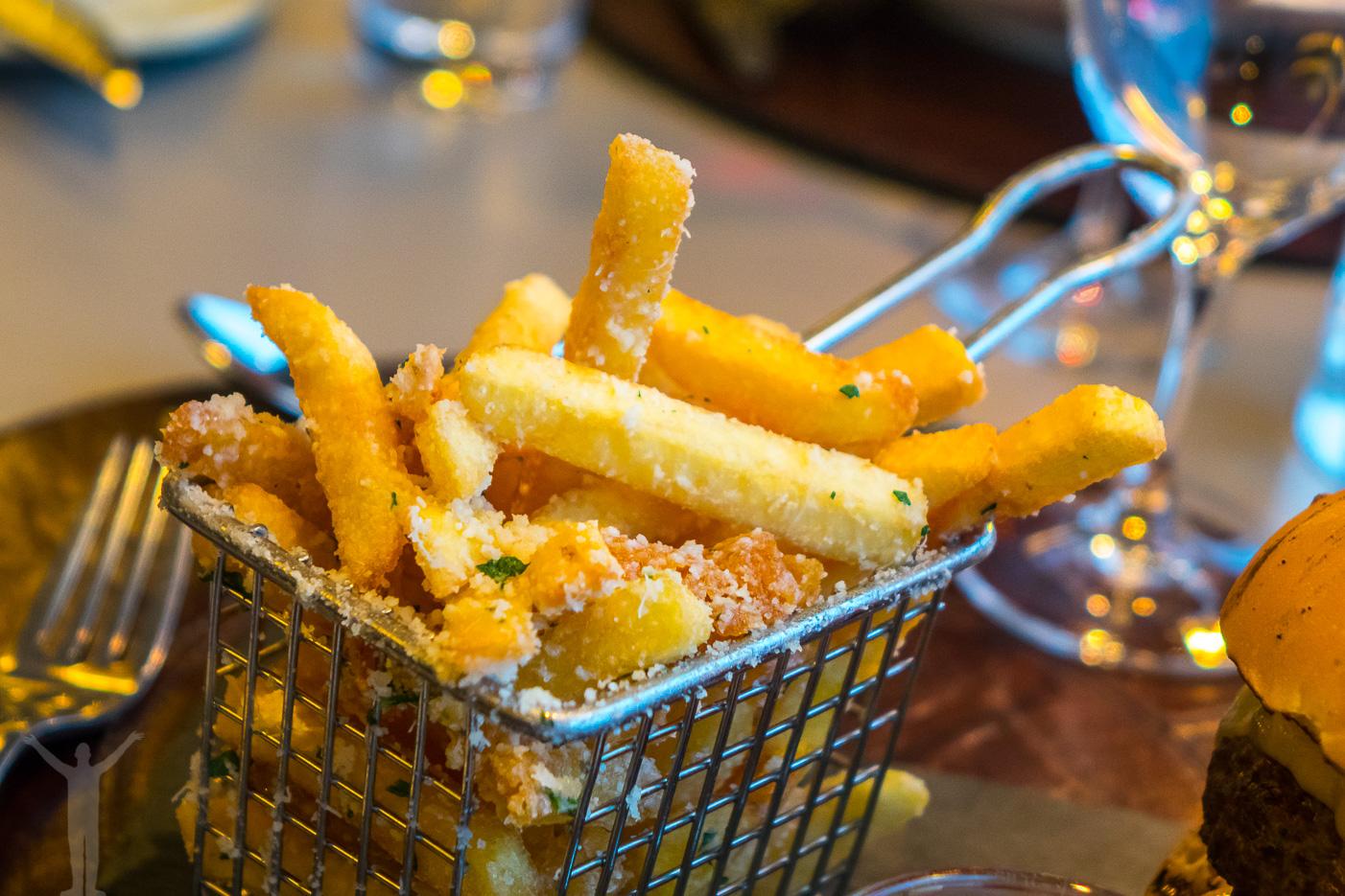 SOHO fries med parmesan