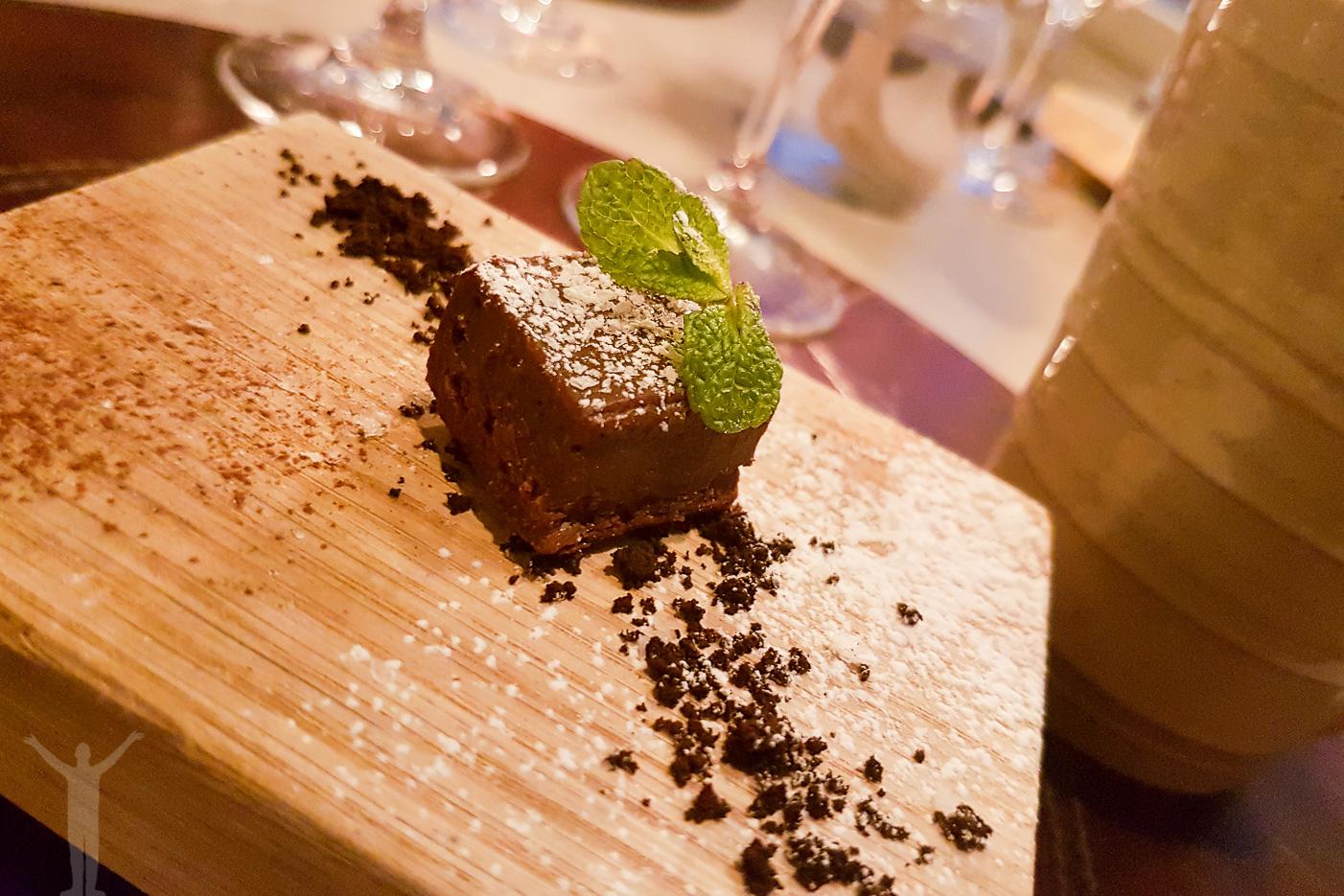 Chokladtryffel för att runda av middagen