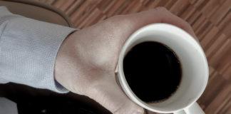 Konferens på Arlanda och en mugg kaffe