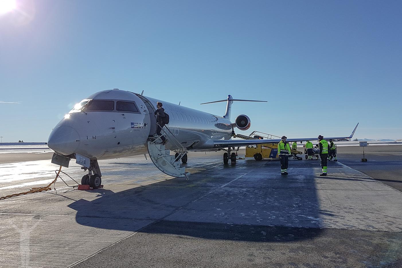 SAS / CityJet CRJ-900LR