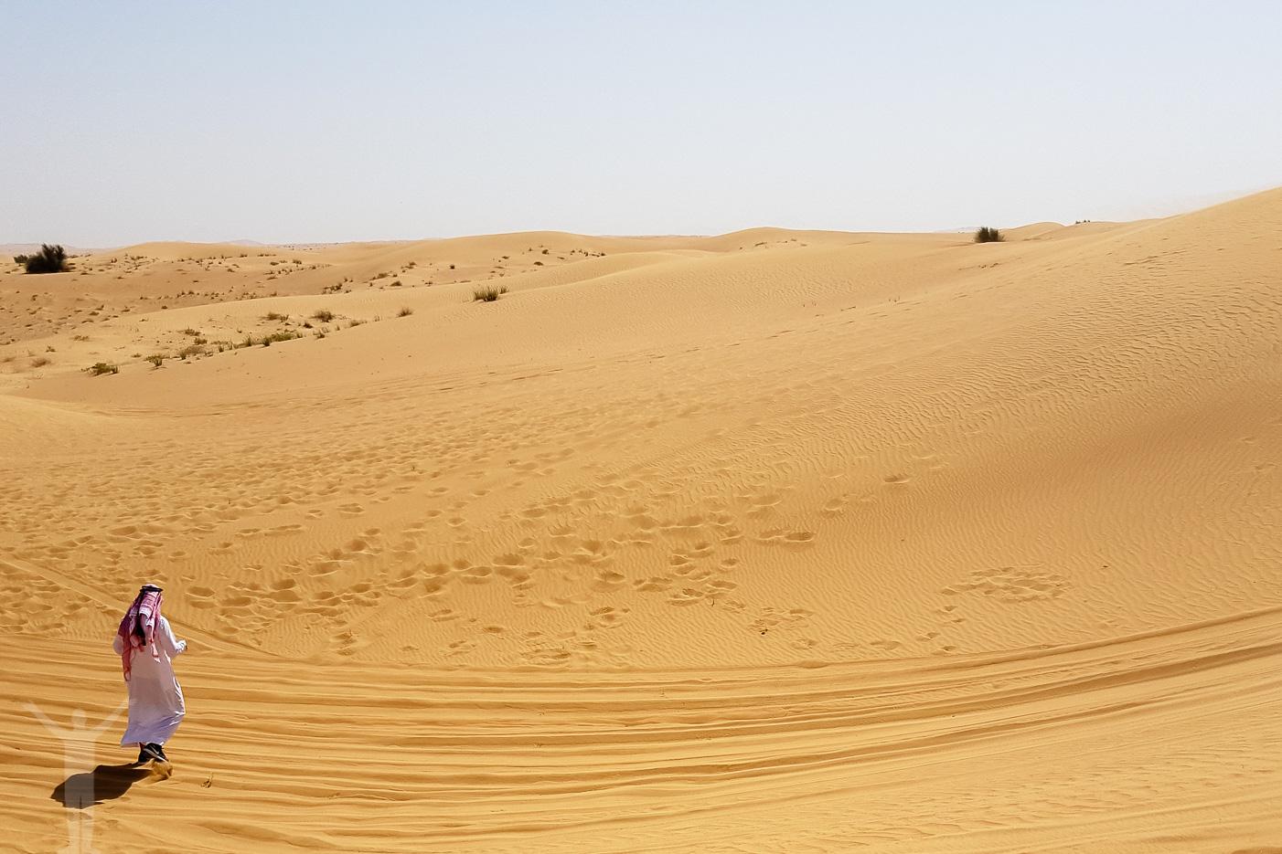 Öken utanför Dubai