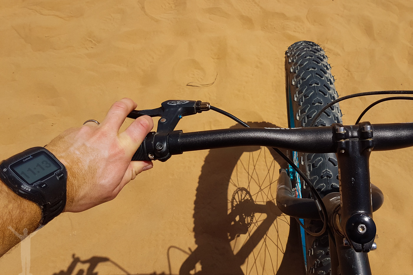 Cykla fatbike