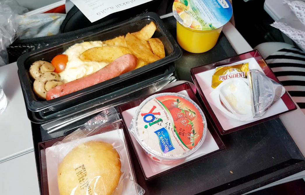 Maten i ekonomiklass