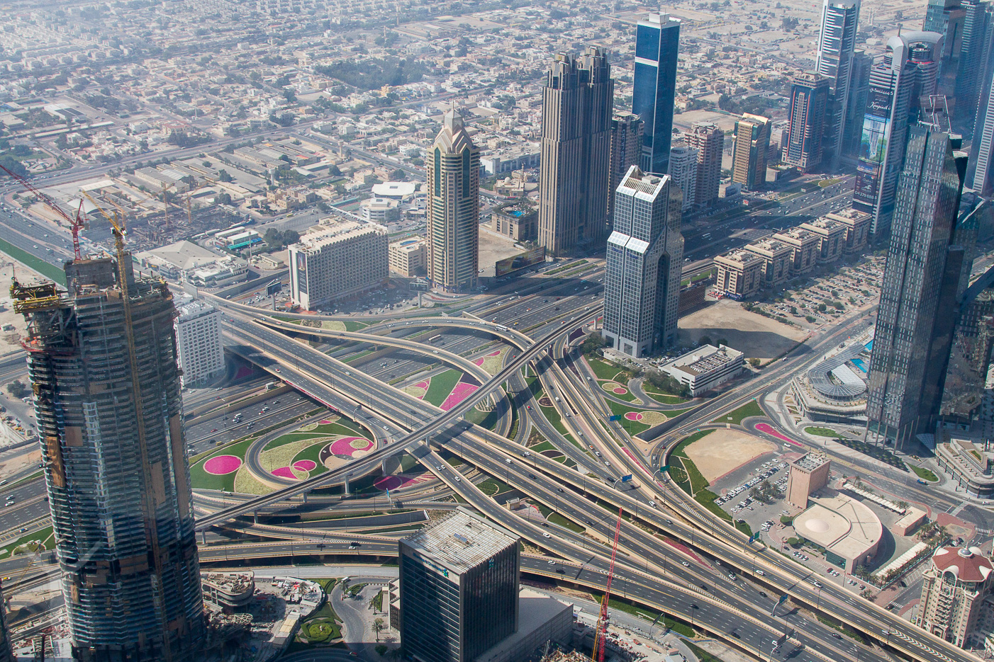 Trafikplats Dubai