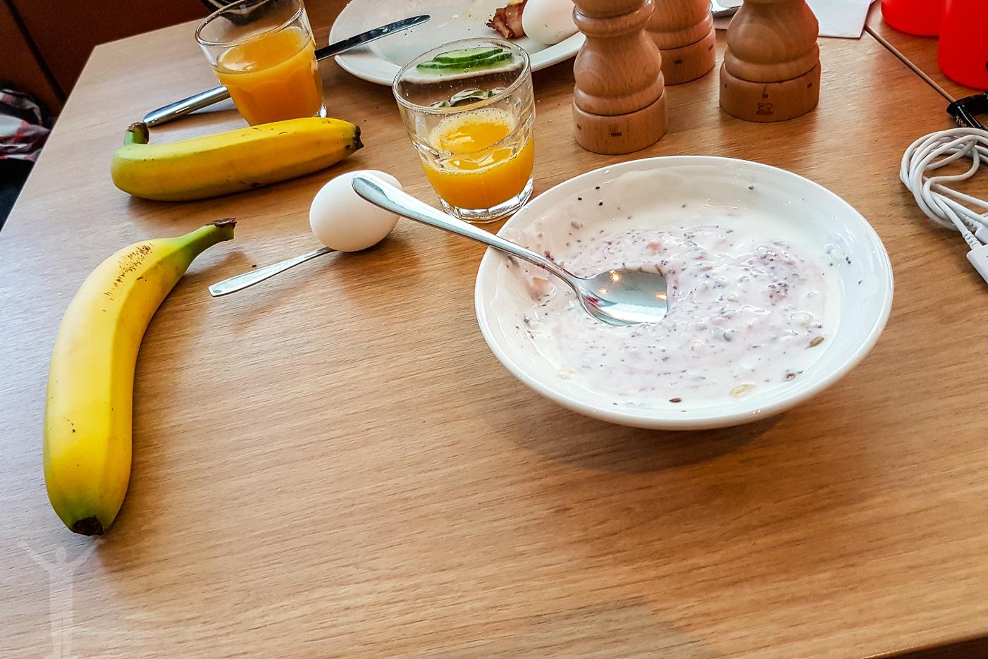 Frukost på Scandic