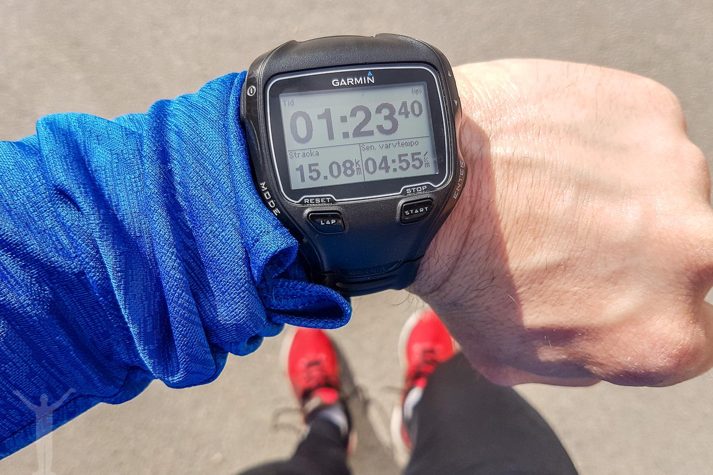 En lite långsammare 15km-runda