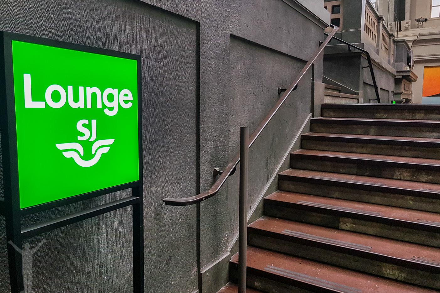 SJ Lounge på Stockholm Central