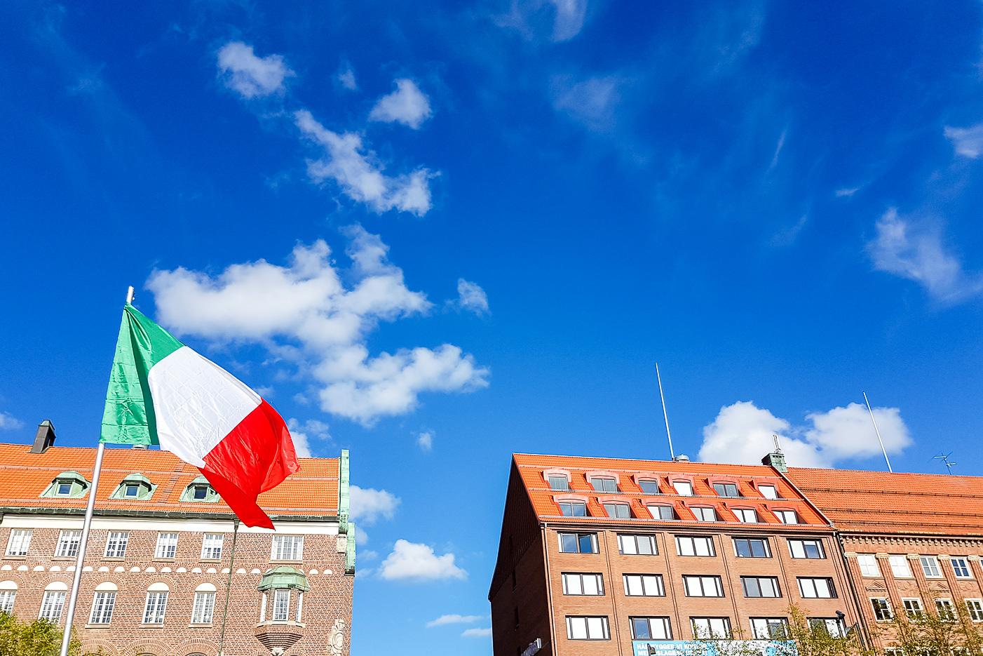 Italiensk matmarknad i Östersund