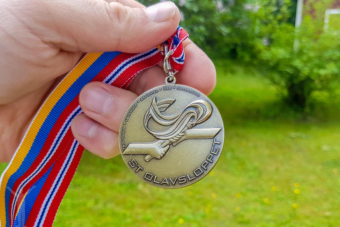 St Olavsloppet medalj