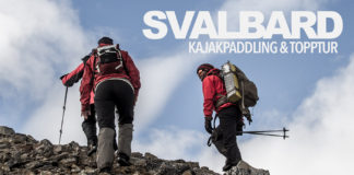 Svalbard - kajakpaddling och topptur