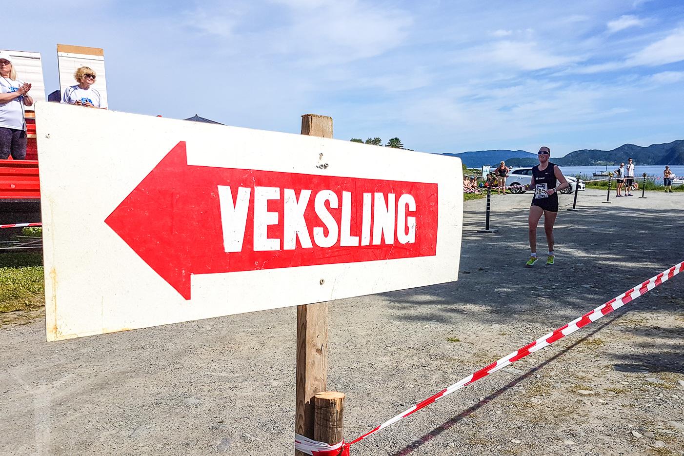 Växling i Steinviksholmen