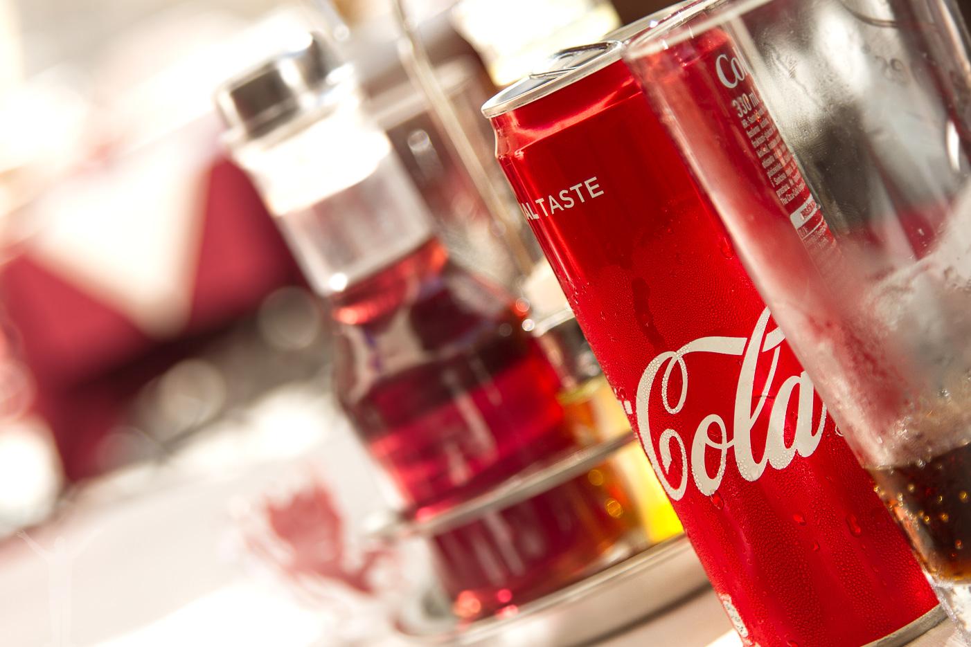 En svalkande cola