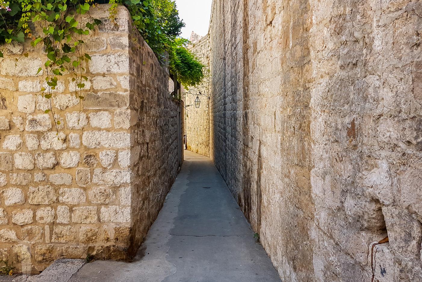 Gränderna i Dubrovnik