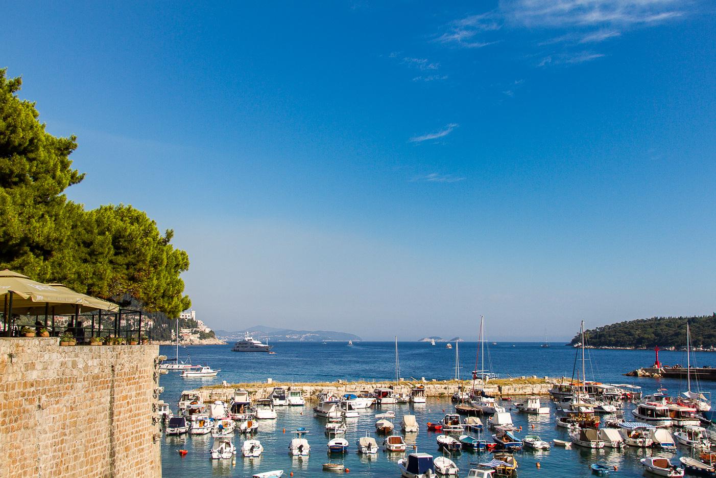 Hamn i Dubrovnik