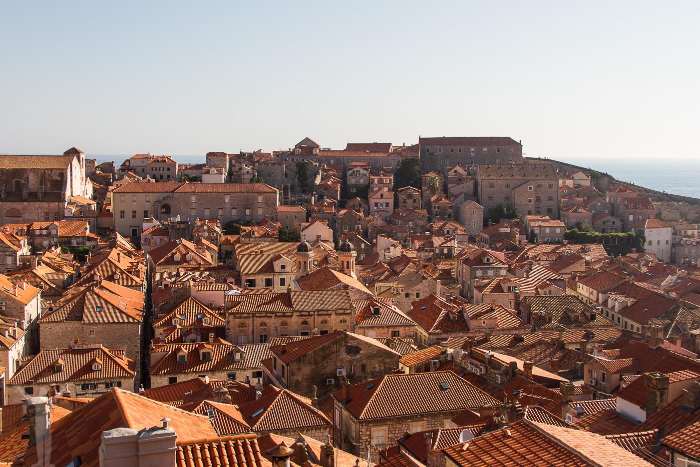 Takåsarna i Dubrovnik