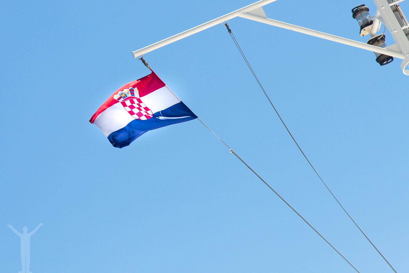 Kroatiska flaggan