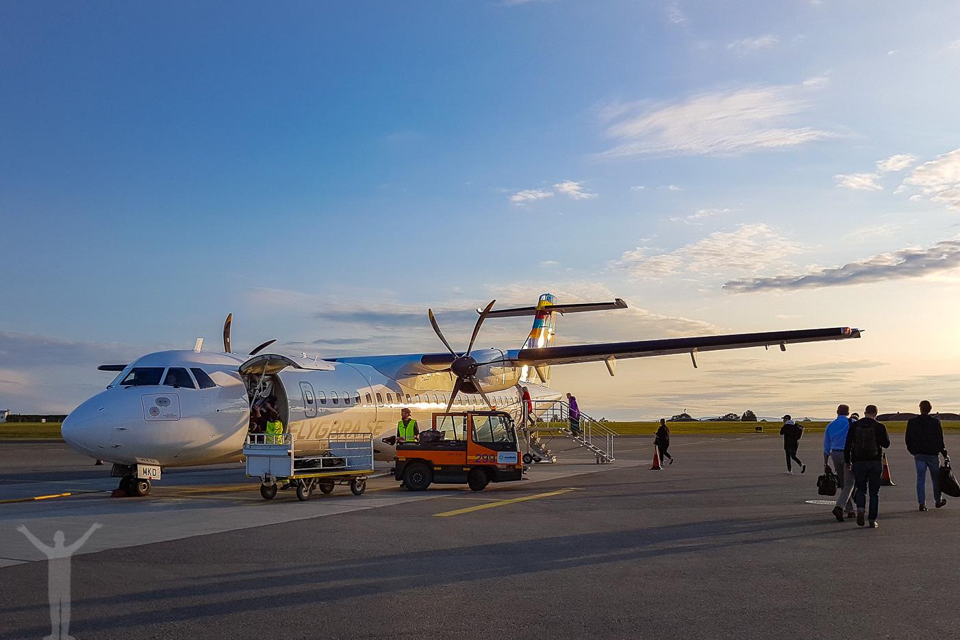 BRA Flyg - ATR72-600 - SE-MKD