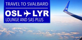 Flyga till Svalbard