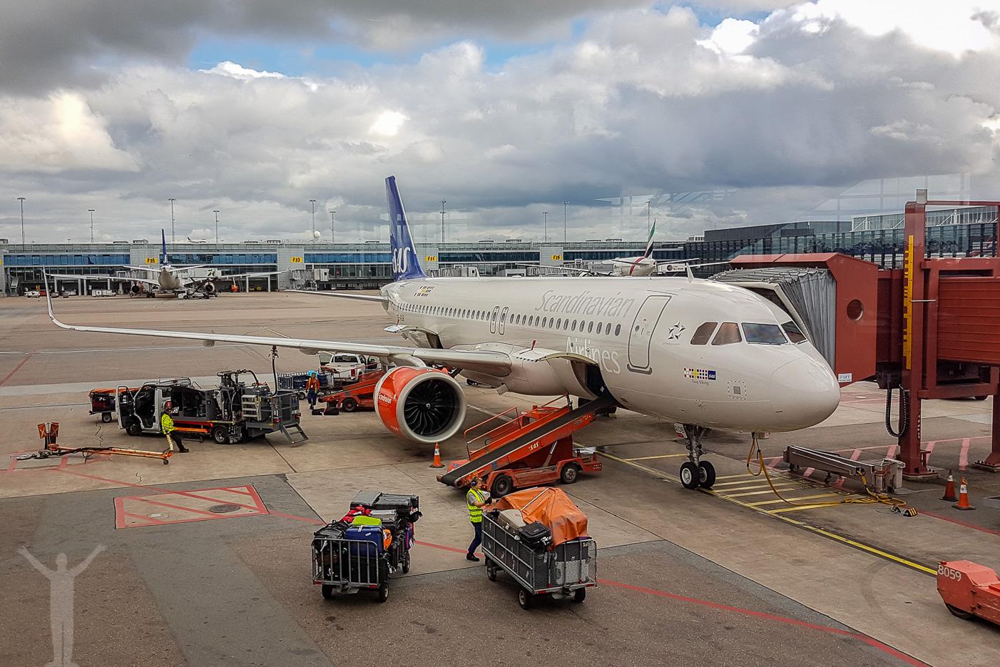 SAS A320neo - Tova Viking