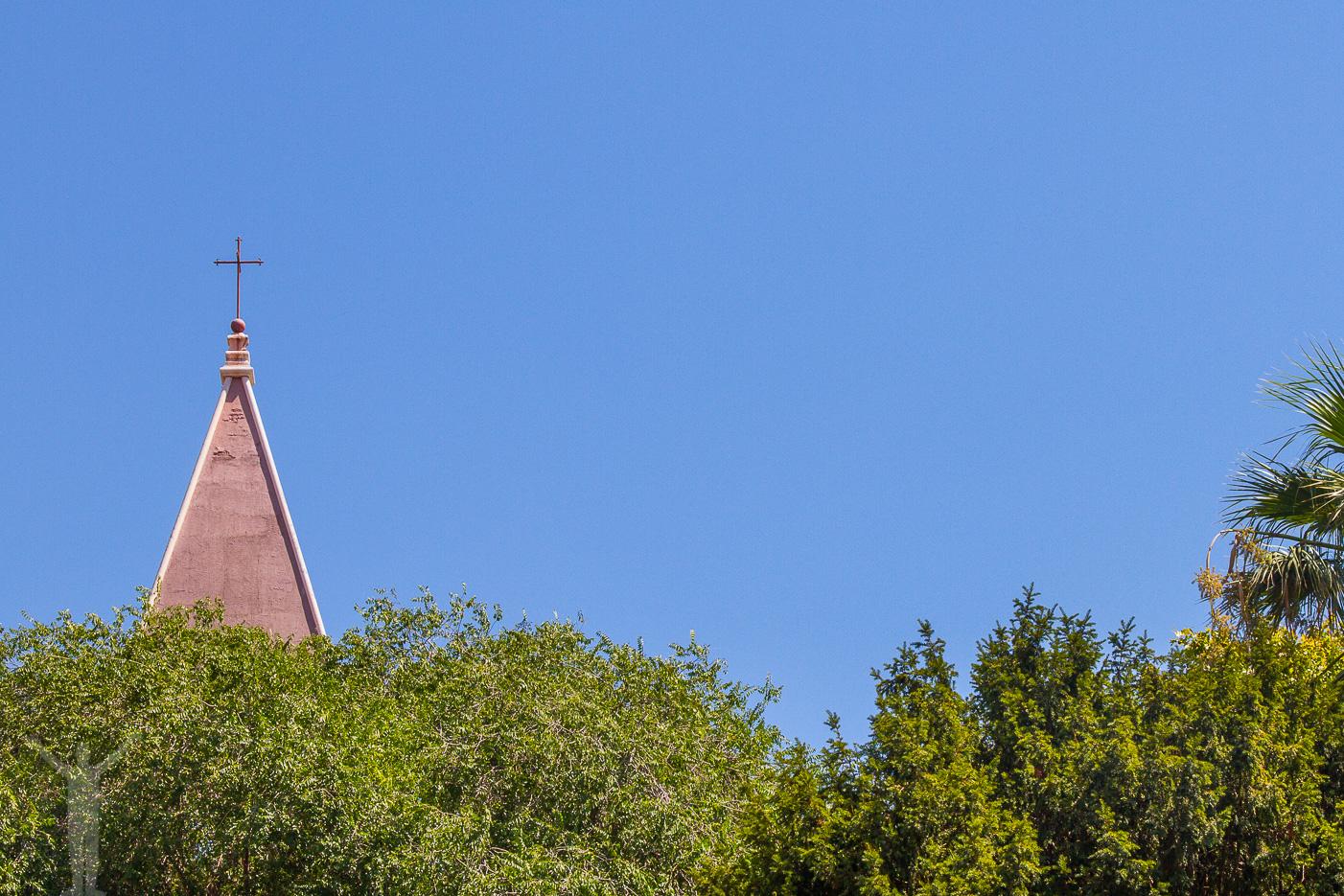 Kyrktorn i Split
