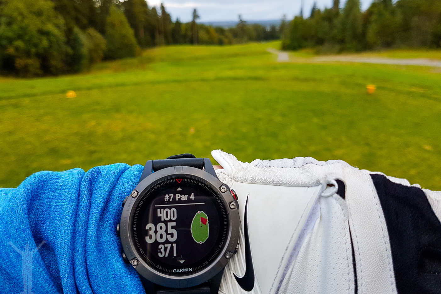 Garmin Fenix 5 - golf