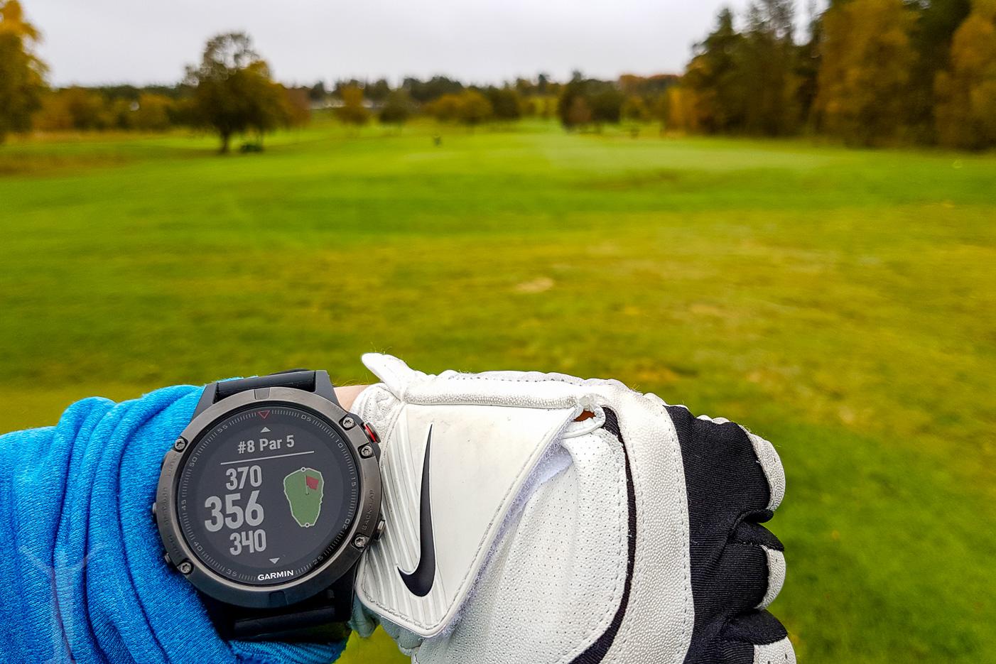 Golf med Garmin Fenix 5