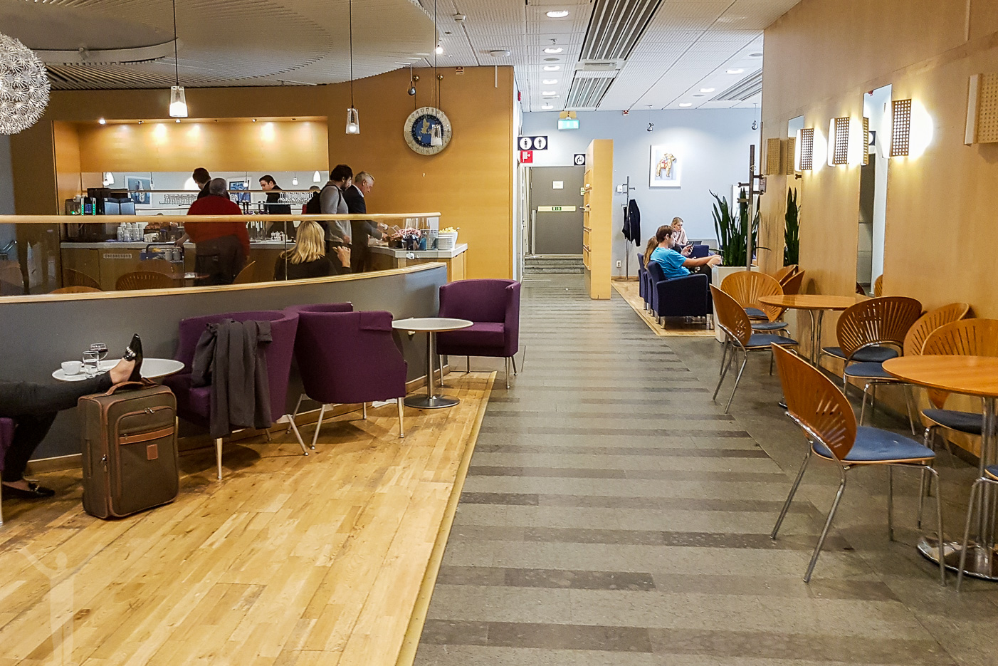 Menzies Business Lounge på Arlanda