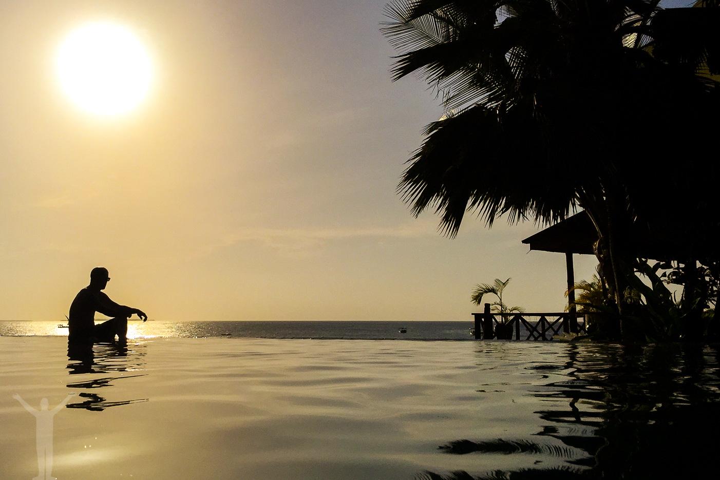 Pool på Zanzibar