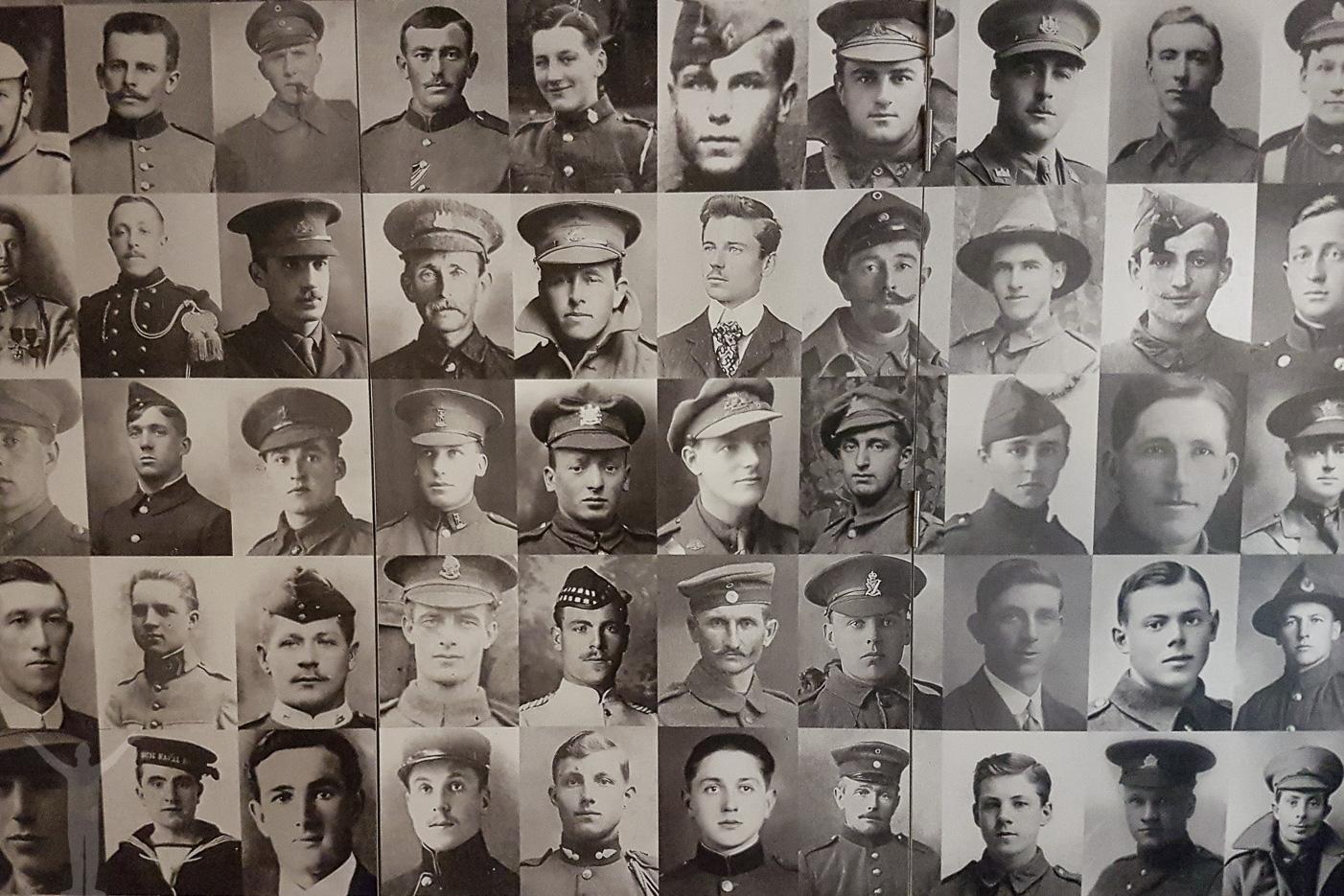 Döda soldater från Första världskriget