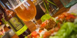 Vegetarisk mat och öl